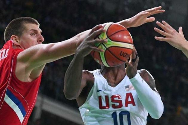 Estados Unidos e França fazem a final masculina do basquete,