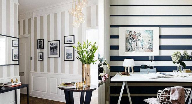 Estampas e listras na decoração: harmonize sua casa sem gastar muito