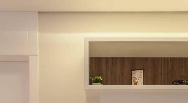 estante decorativa nichos suspensa raduan arquitetura