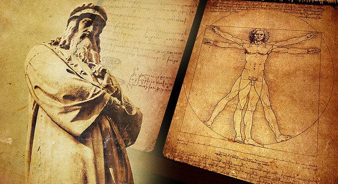Da Vinci revelou as proporções geométricas perfeitas que governam todo o mundo natural