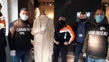 Itália recupera na Bélgica uma estátua romana roubada em 2011