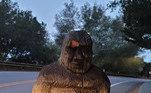 Segundo as autoridades que fizeram a descoberta da estátua em uma estrada da cidade de Felton, a estátua tinha alguns