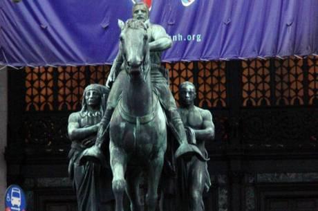 Estátua de Theodore Roosevelt será removida