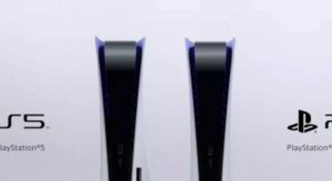 Este é o PlayStation 5; Console terá dois modelos – com e sem disco