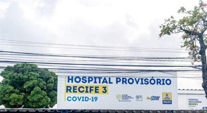 Este é o último hospital de campanha previsto no Plano Municipal de Contingência Covid-19 da Prefeitura do Recife, construído para atender pessoas com suspeitas ou infectadas pelo Covid-19