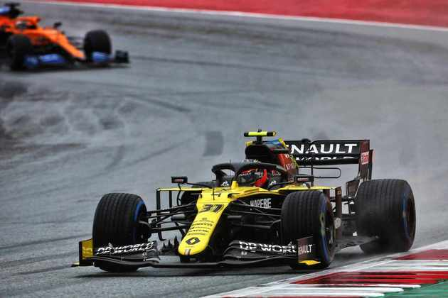 Esteban Ocon colocou a Renault na quinta colocação do grid