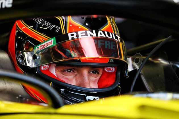 Esteban Ocon, da Renault, foi oitavo colocado
