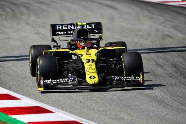 Esteban Ocon fez corrida discreta e terminou apenas em 13º