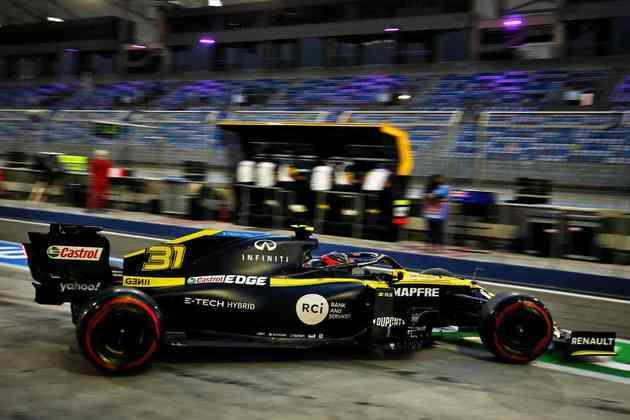 Esteban Ocon foi o quinto mais rápido na sexta-feira.