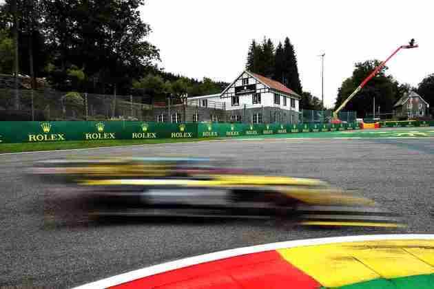 Esteban Ocon foi quem alcançou a maior velocidade do dia, inclusive (Foto: Renault)