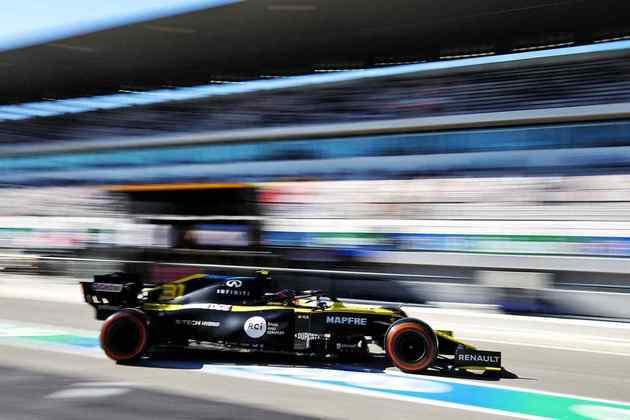 Esteban Ocon larga apenas na 11ª posição no GP de Portugal