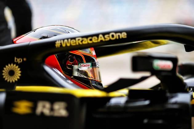 Esteban Ocon terminou a sexta-feira fora do top-10.