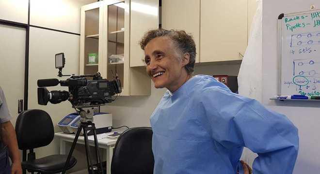 Professora Ester Sabino, pesquisadora da Universidade de São Paulo