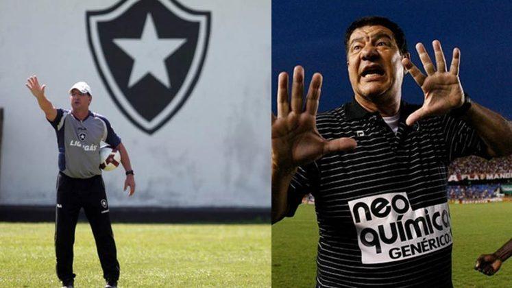 Estevam Soares/Joel Santana - Botafogo 2010: o Glorioso sofreu um 6 a 0 do Vasco, demitiu Estevam Soares, e contratou Joel, que mudou a cara do time e foi campeão Carioca. Vale lembrar que tal goleada sofrida marcou a estreia de Loco Abreu, que viria a ser ídolo no clube