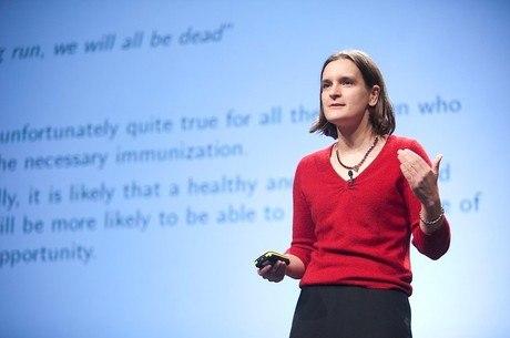 Esther Duflo é a mais jovem a ganhar o Nobel de Economia