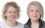 Para a dona de casaJūratė, de 49 anos, a transformação foi como dar um mergulho na fonte da juventude. O corte de cabelo e as roupas novas a deixaram pelo menos 10 anos mais jovem