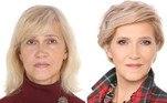 Aos 57 anos, Tatiana mudou radicalmente o corte dos cabelos e ficou uma verdadeira mulher de negócios