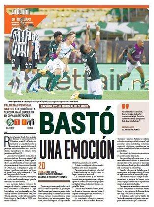 Esto - Os mexicanos lembraram que uma emoção foi o suficiente para definir o campeão da Libertadores.
