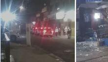 Grupo estoura caixas eletrônicos e depreda ônibus na zona sul de SP