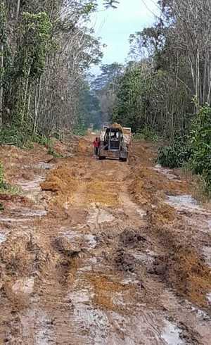 Estrada privada criada por suspeito gerou confusão na região