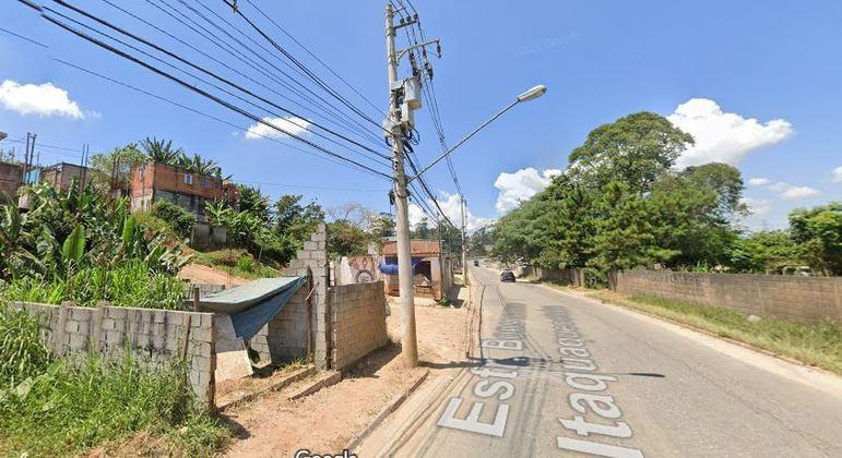 Estrada do Bonsucesso, em Itaquaquecetuba