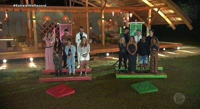 Reality show 'Ilha Record' estreou na noite desta segunda-feira (26)