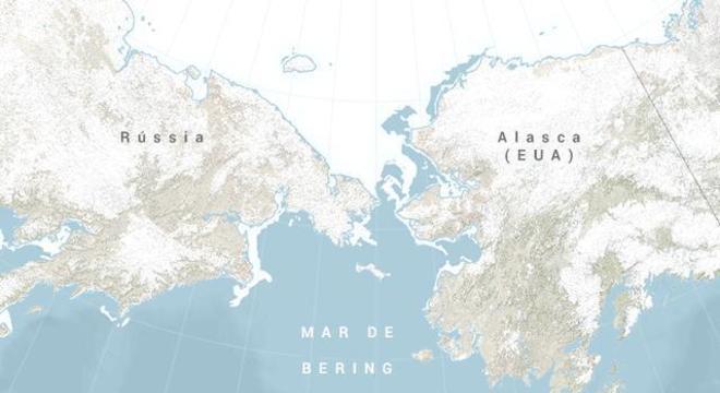 Estreito de Bering - O que é, origem do nome e características gerais