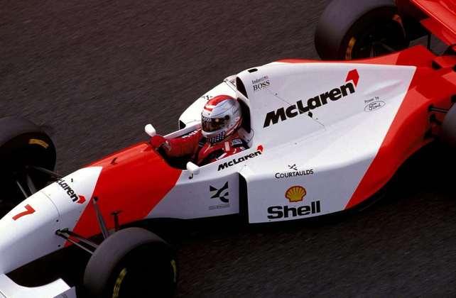 Estrela na Indy, Michael Andretti teve o vínculo com a McLaren encerrado após o GP da Itália de 1993. Mika Häkkinen o substituiu.