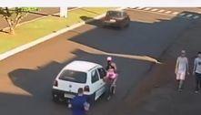 Estudante é assediada, cai de bicicleta e quase é atropelada no PR