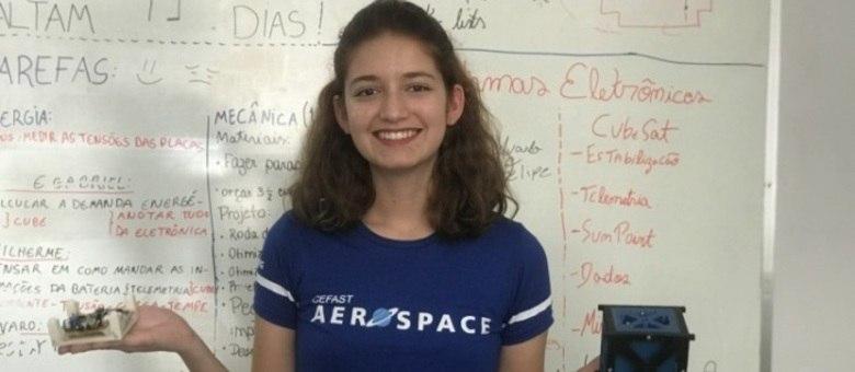 Luisa Soares se destacou em olimpíadas nacionais e competições nos EUA