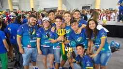 Estudantes brasileiros criam chiclete especial e ganham principal prêmio da NASA (Arquivo Pessoal)