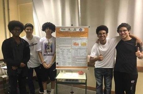 Estudantes brasileiros participam de competição na Suécia