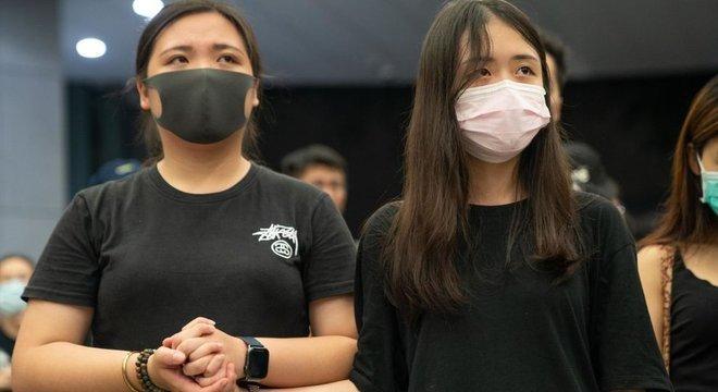 A maioria da população mais jovens em Hong Kong não se identifica como chinesa