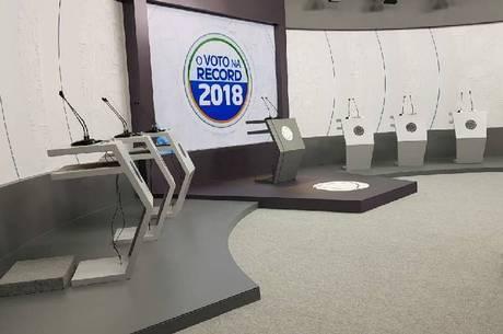 Seis candidatos ao Governo participarão do debate