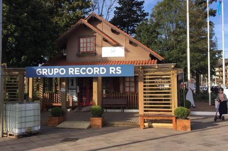 Estúdio de inverno Grupo Record RS