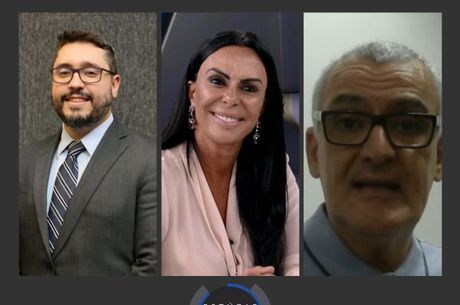 Os convidados Mário Guerreiro, Ivana David e Jamal Suleiman
