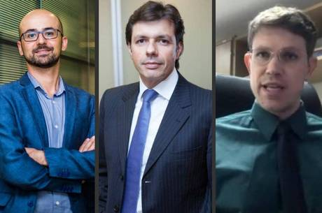 Rodrigo Nejm, Adriano Volpini e George Neves Lodder