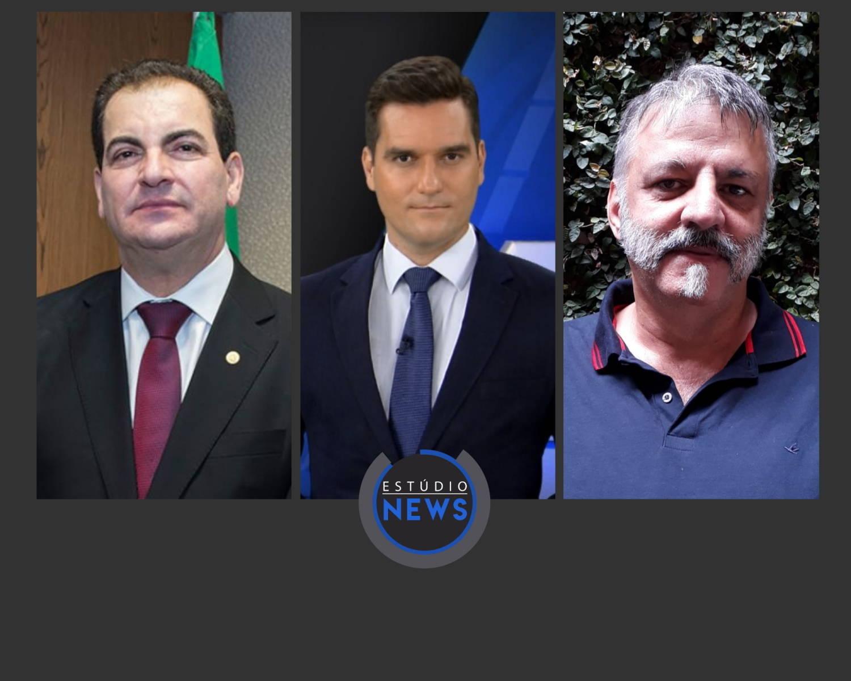 Na foto, Gilson Soares Lemes, Gustavo Toledo e Gustavo Gazzineli