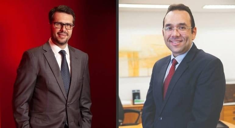Luiz Tonisi e Jorge Nascimento: interação