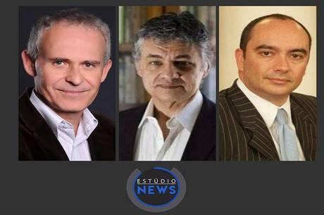 Flavio Rech Wagner, Marcos Dantas e Paulo Perrotti
