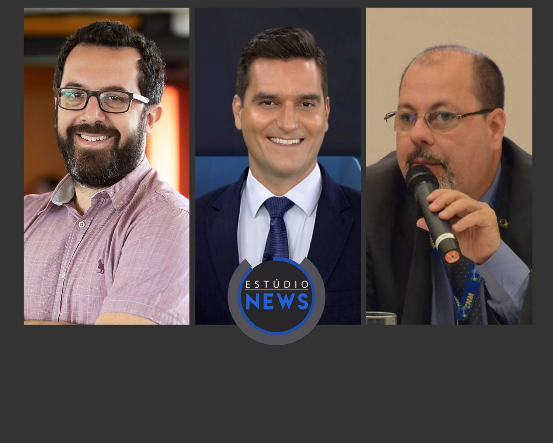 Glauco Peres da Silva, Gustavo Toledo e Eduardo Stranz
