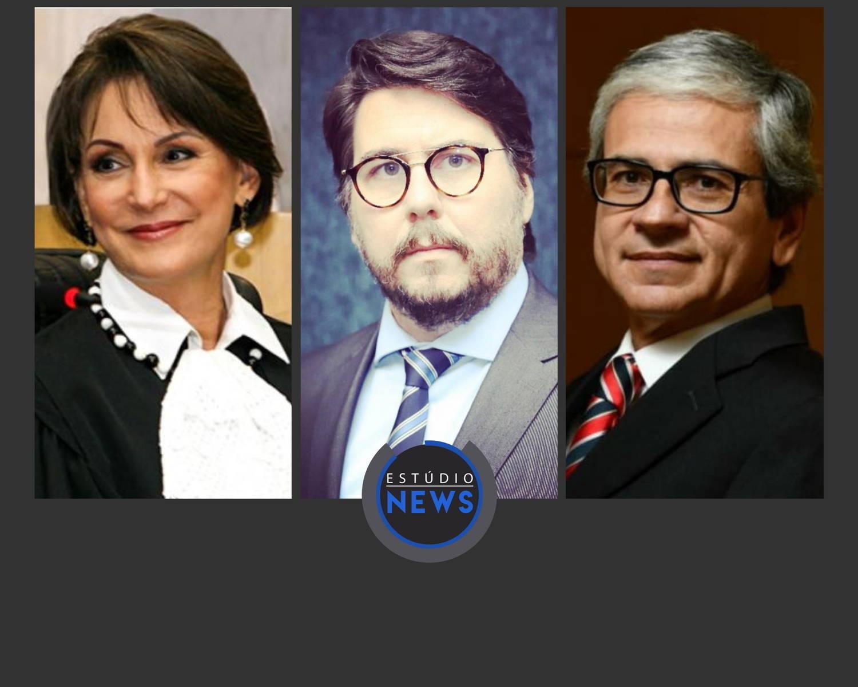 Na foto, Maria Cristina Peduzzi, Daniel Carnio Costa e Otávio Pinto e Silva