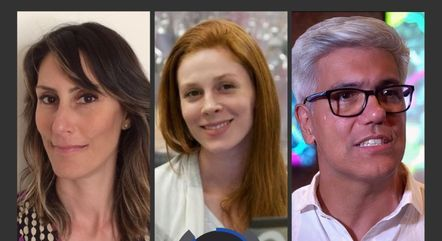Bárbara Sapunar, Renata Ross e Onofre de Araujo Neto
