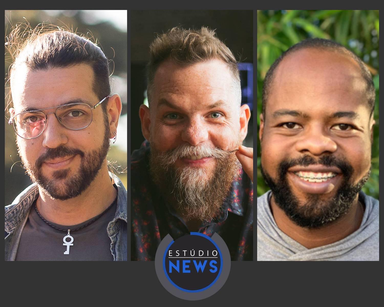 Kayê Conforto, Marcos Piangers e Luciano Ramos participam do 'Estúdio News'