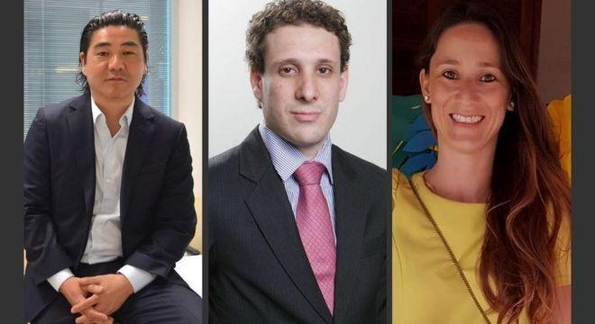 Alexandre Teruya, Samy Dana e Livia Segurado Nunes