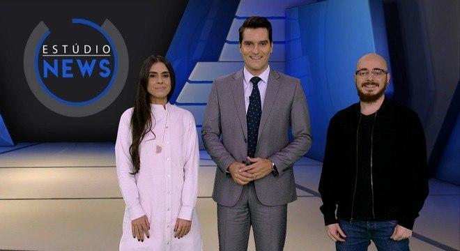 Fernanda Simon, Gustavo Toledo e Paulinho Moreira
