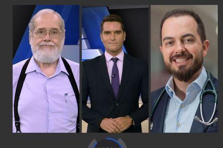 Gonzalo Vecina, Gustavo Toledo e Raphael Brandão