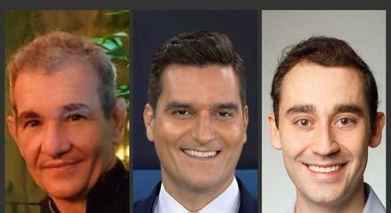 Malebranche Carneiro, Gustavo Toledo e Sérgio Brasil Tufik