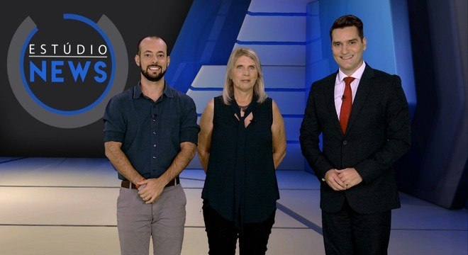 Rodrigo Spuri, Edenise Garcia e Gustavo Toledo