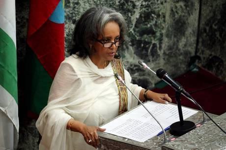 A eleição de Zewde foi confirmada nesta quinta-feira